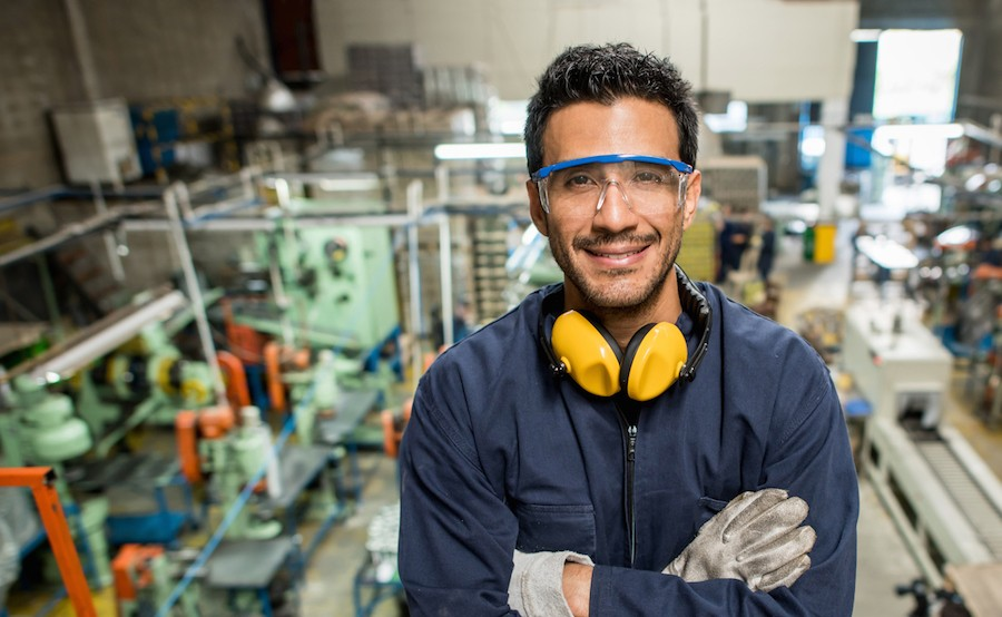 Man working at a factory - Hospitality Staffing Solutions