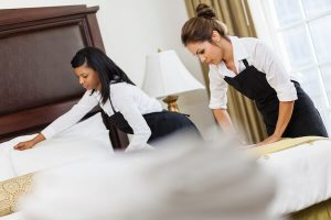 hotel staff Bloomington