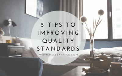 5 Tips To Improve Housekeeping Departments