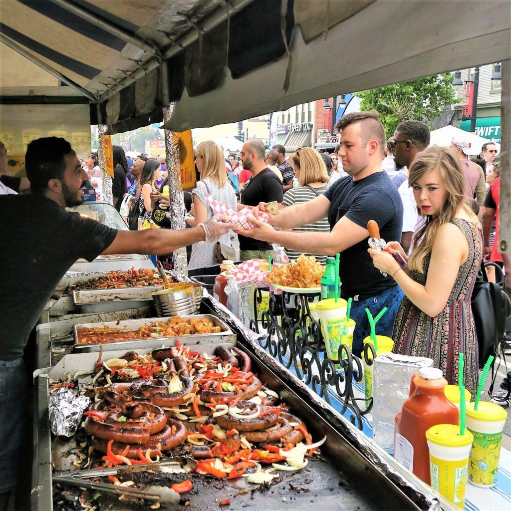 Food Vendor H Street Festival