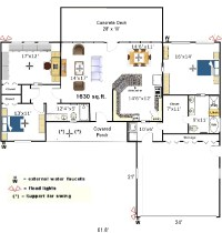 FREE HOME PLANS - SMALL BUSINESS FLOOR PLANS