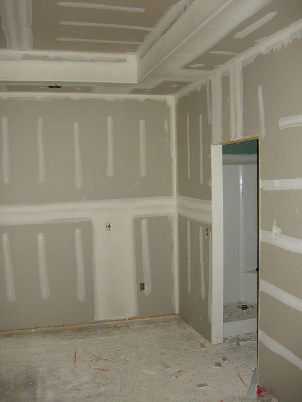 Insulation And Sheetrock