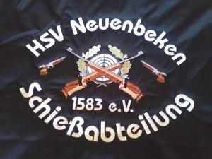 HSV SA Logo Jacke Rücken