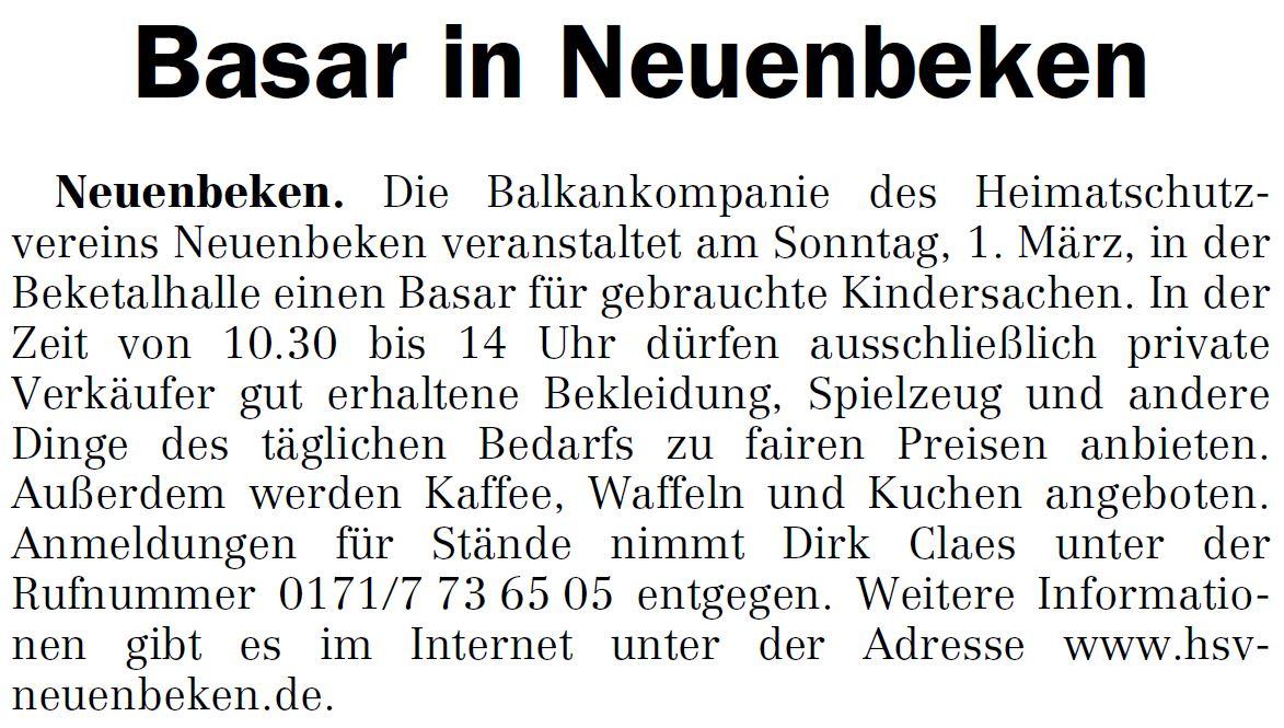 """Presseartikel """"OWL am Sonntag"""" vom 08.02.2015 ..."""