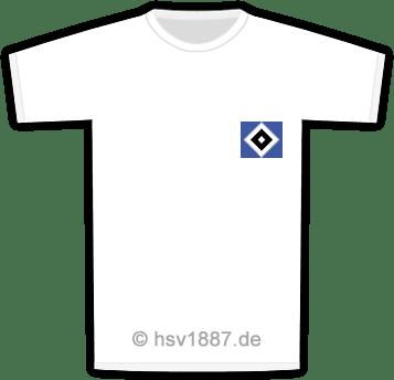 Heim-Trikots des Hamburger SV von 1963/64 bis heute