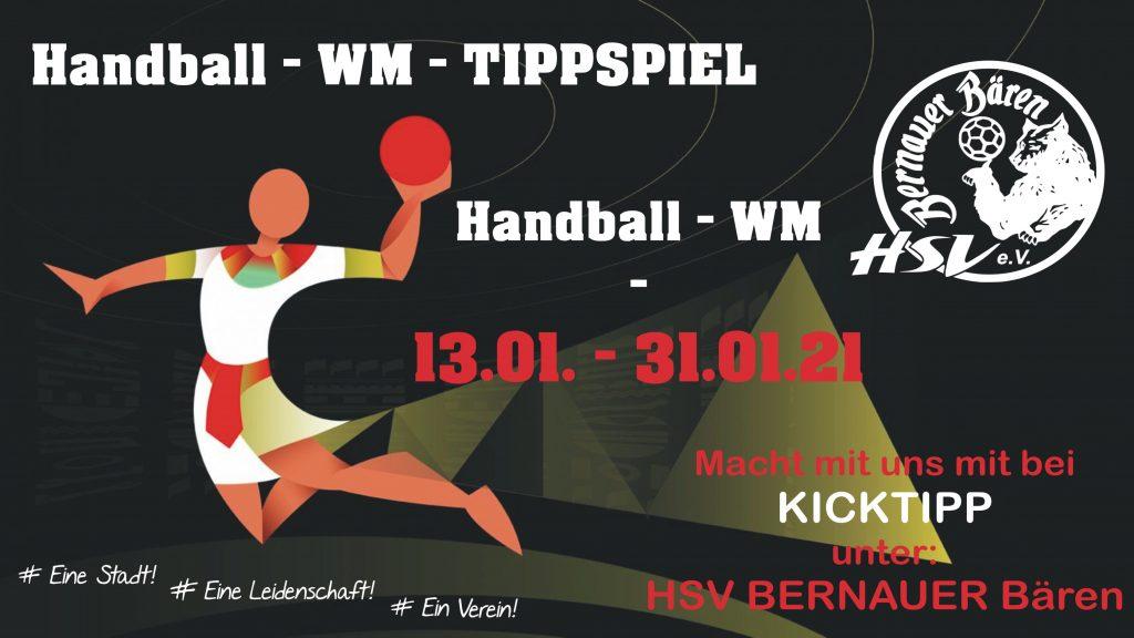 handball wm tippen mit den bernauer