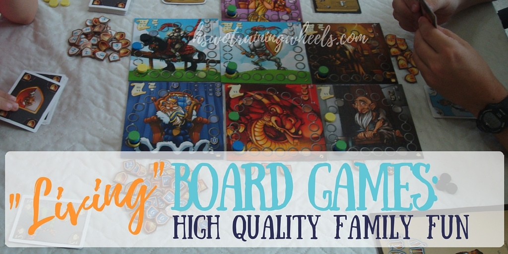 """Living"" Board Games: High Quality Family Fun"
