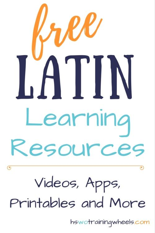 Our favorite multi age homeschool resources homeschooling without latin may be an ancient language there are still plenty of free online resources to fandeluxe Gallery