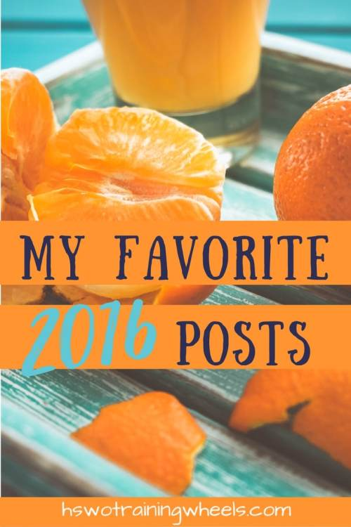 There are some posts that have gotten a lot of page views. And then there are some less-visited posts that are dear to my heart. Here are my favorites.