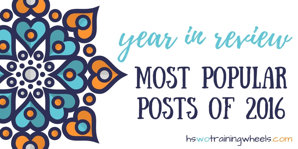 2016 has been a great year. So much has happened on the blog. Check out this countdown of the top five most popular posts!
