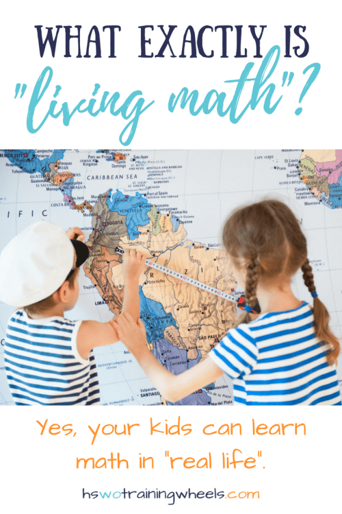 Is it possible to teach homeschool math without a textbook? Can your students really learn math by reading books, playing games, and engaging in real life activities? Come find out about living math!