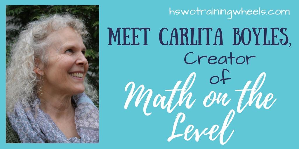 Meet Carlita Boyles, Creator of Math on the Level | Homeschooling ...
