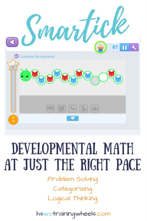 Take a peek at this online math review program developed to automatically place students at the right level for their knowledge and math skill level.