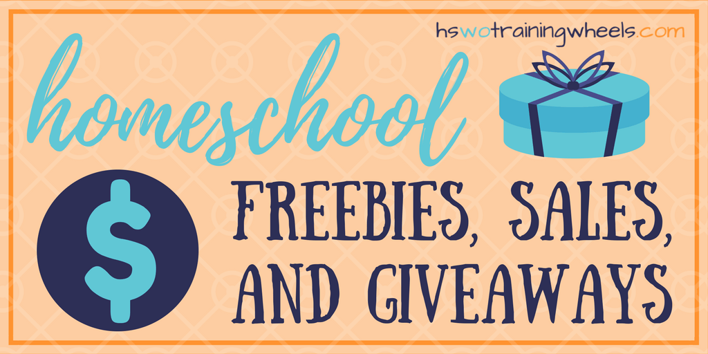 Bookmark or pin this post to keep track of the current homeschool freebies, giveaways, and sales. Frugal homeschooling is possible! Don't miss a deal!