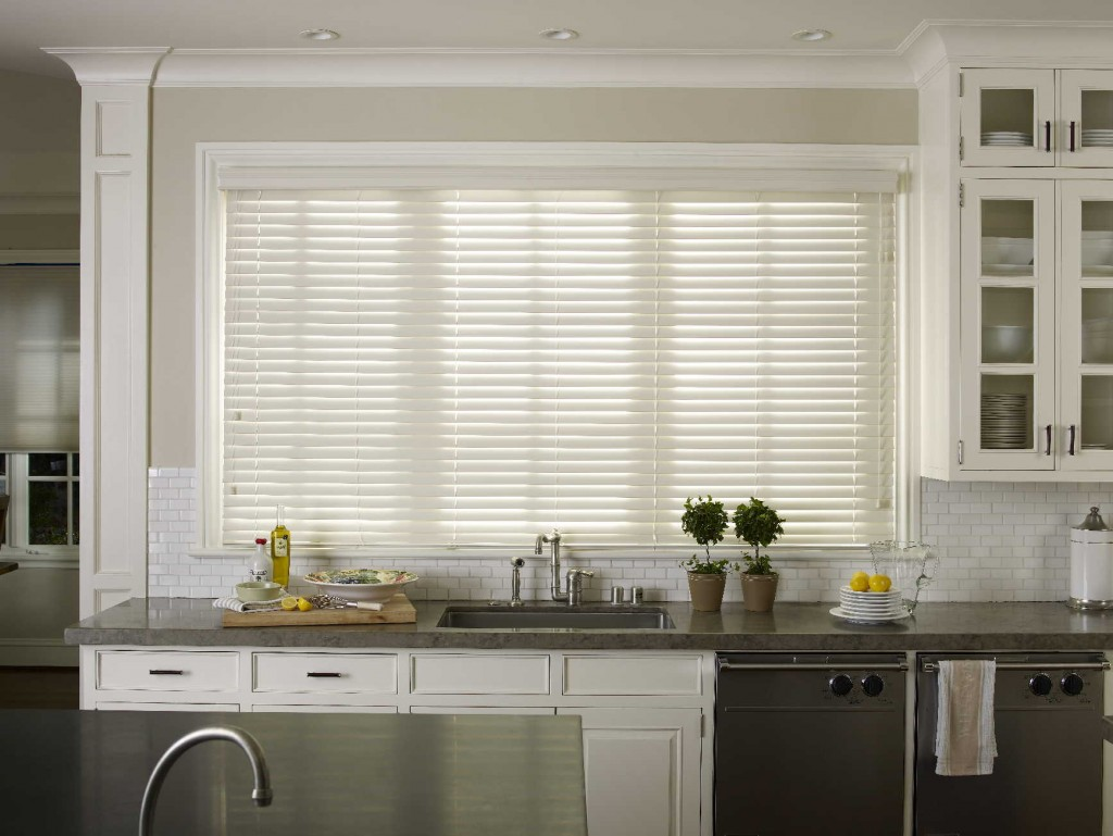 large kitchen window treatments clearance cabinets 2inch faux wood blinds ht