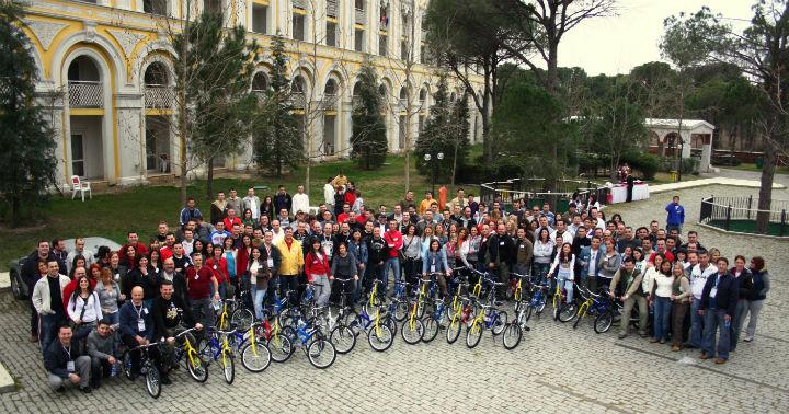 Bisiklet aktivitesi Kurumsal etkinlik