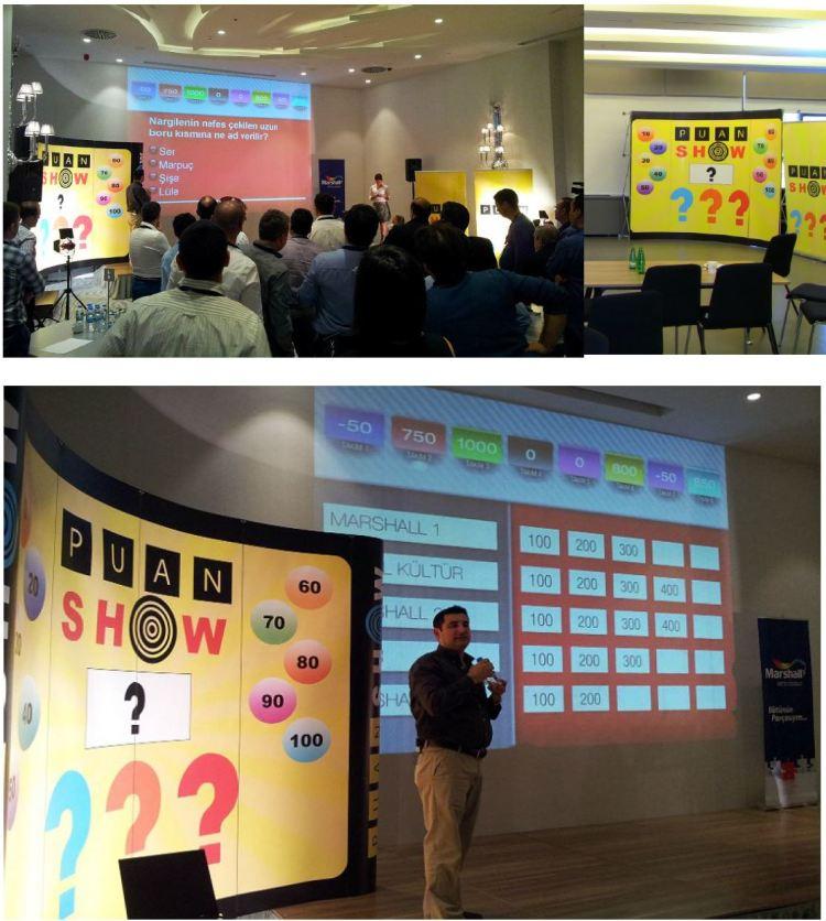 Puan Show Takım bilgi yarışması