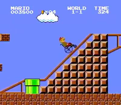 Mario got old so they had to adapt the game a bit.