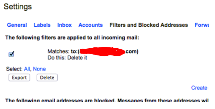 Recent E-mail Hack Example …