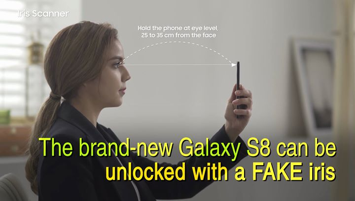 Samsung S8 Iris Hack …