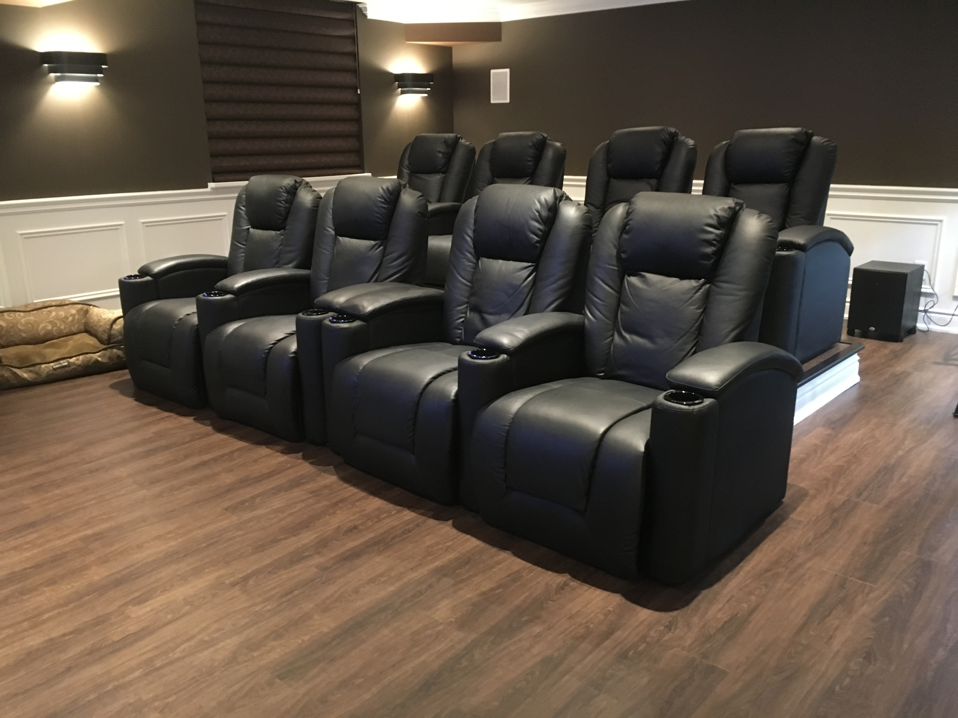 home theater chairs canada wheelchair transport sg theatre recliner seats seville 3 piece power