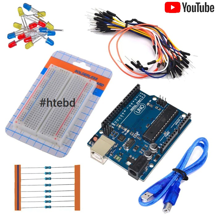 DIY Arduino Uno Projects Kits HTE-PK05