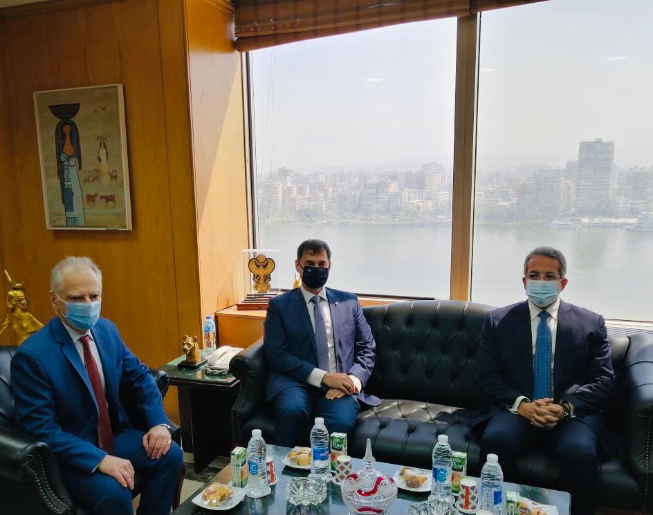 Επίσκεψη Υπουργού Τουρισμού Χ. Θεοχάρη στην Αίγυπτο