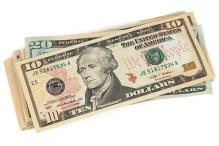 some US dollars