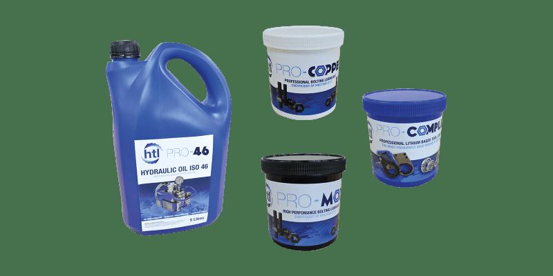 Hydraulic Oils & Bolting Lubricants