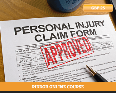 RIDDOR online course - RIDDOR - RIDDOR CPD Accredited - how to report riddor - riddor explained - Online courses