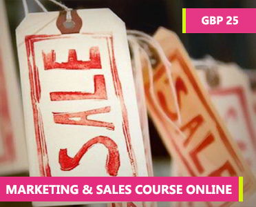 Marketing and Sales Course Online