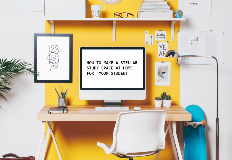 how to create a study space in a bedroom - how to create study environment at home - importance of a good study environment - describe a good study environment - learn online - tutors - study at home - home school
