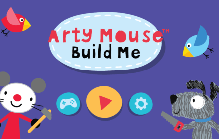Arty Mouse Build Me Game