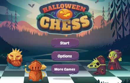 Halloween Chess HTML5 Game