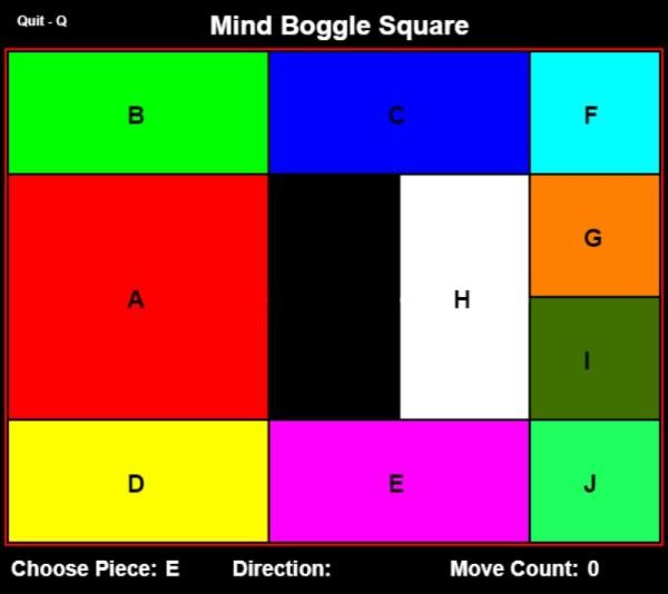 Mind Boggle Square
