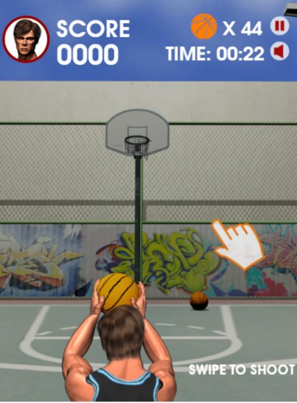 Street Shooter Basketball HTML5 Game