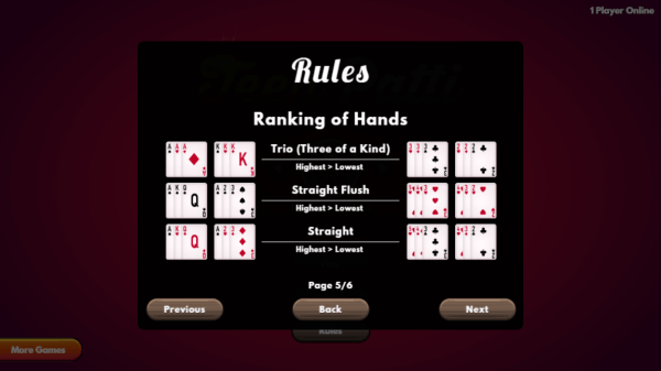 Teen Patti game rules