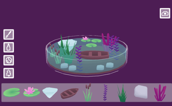 Tiny Worlds in Flasks aquatic