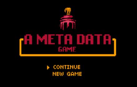 A Meta Data Game