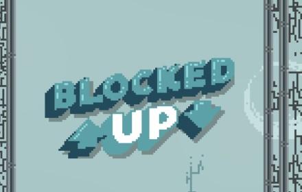 blocked up