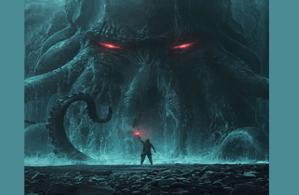 classic horror RPG game banner