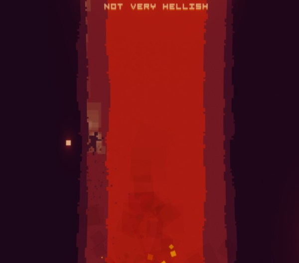 into the bullet hell
