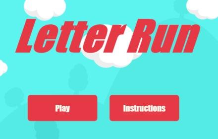letter run