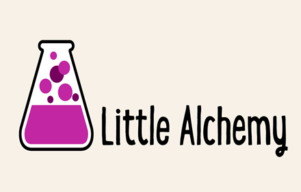Little Alchemy start up page