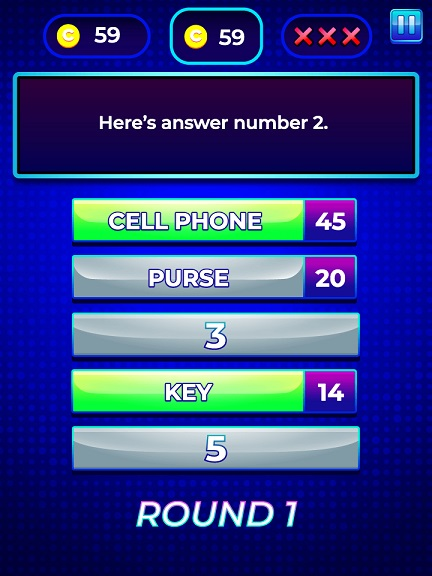 game show quiz survey