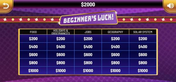 Family Quiz Game Show Play