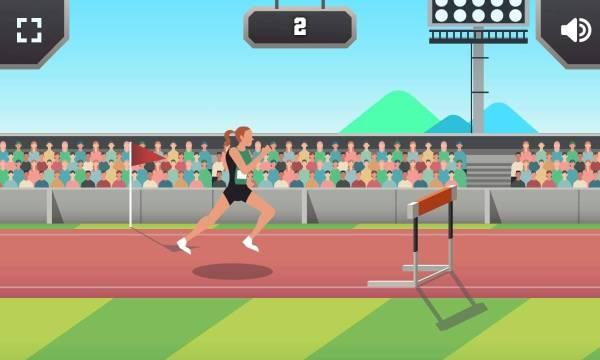Hurdling Sports Game 1