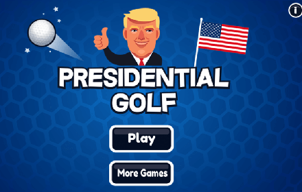 Presidential Golf Main Menu