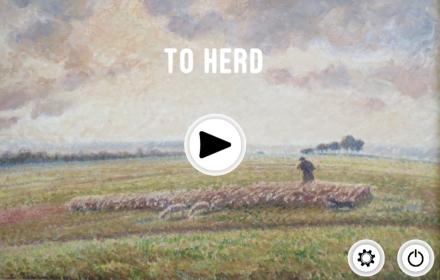 To herd