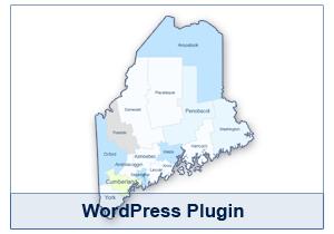 Interactive Map of Maine - WordPress Plugin